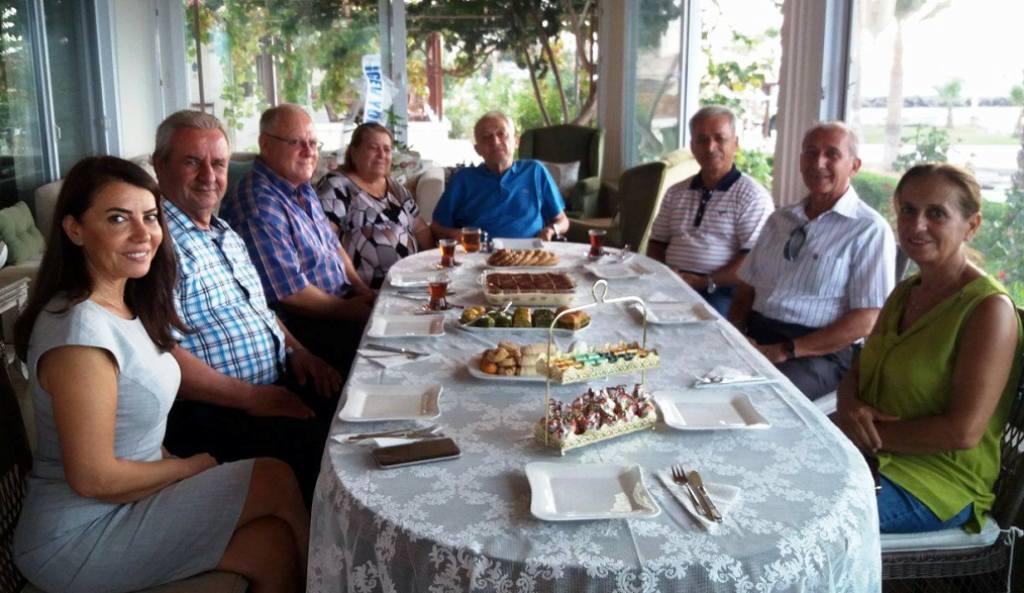 İGEV'den Şahap Yılmaz'a Vefa Ziyareti