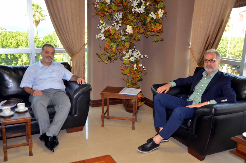 Rektör Prof . Dr.Tükay  Dereli İTSO'yu ziyaret etti
