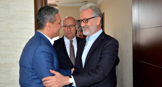 İTSO'dan Başkan Gül'e Hayırlı Olsun Ziyareti…