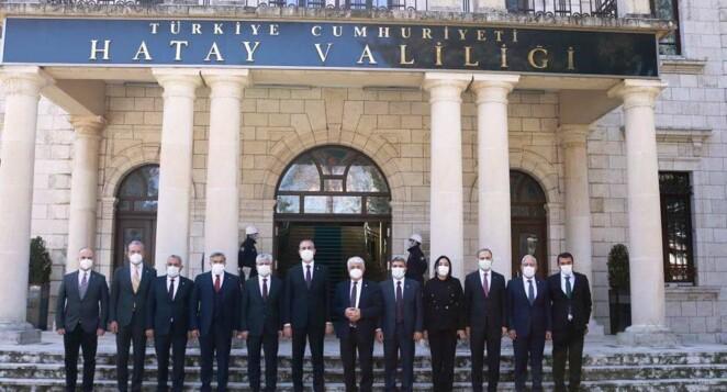 Adalet Bakanı Abdülhamit Gül Hatay'da
