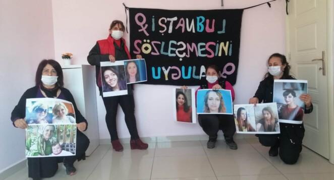 İskenderun Kadın Platformu, kadınlara yönelik şiddeti protesto etti!